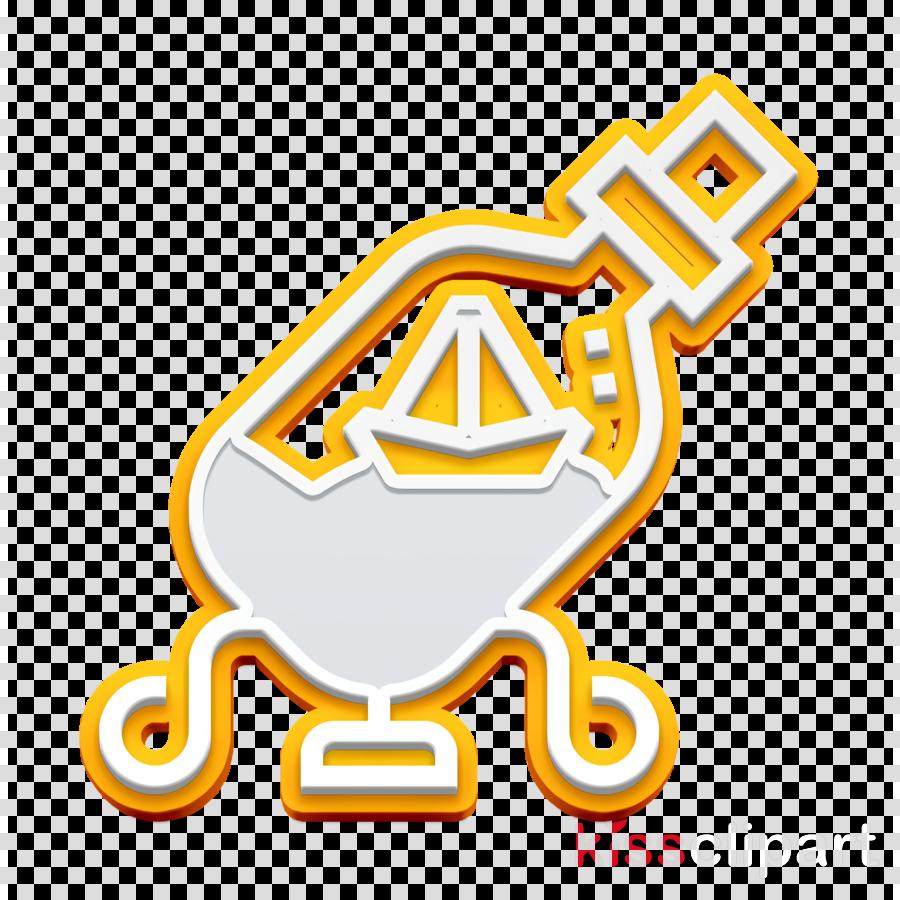 Ship in a bottle icon Home Decoration icon Ornament icon.