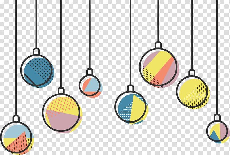 Light Christmas Icon, Christmas lights decoration.