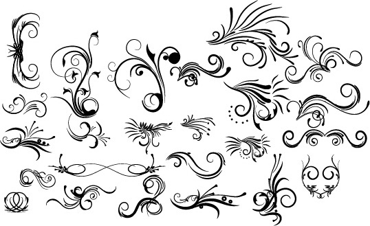 Floral decorative pack png free vector download (94,460 Free vector.