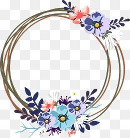2019 的 Vector Wedding Decorative Garland, Wreath, Decoration.