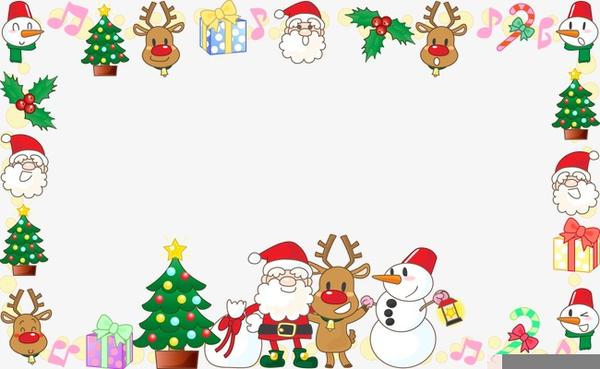 Border Christmas Decoration Clipart.