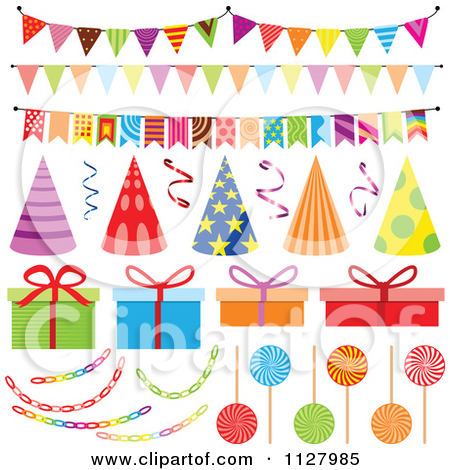 Clipart Party Decorations