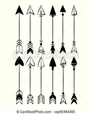 Decorative bow arrows.