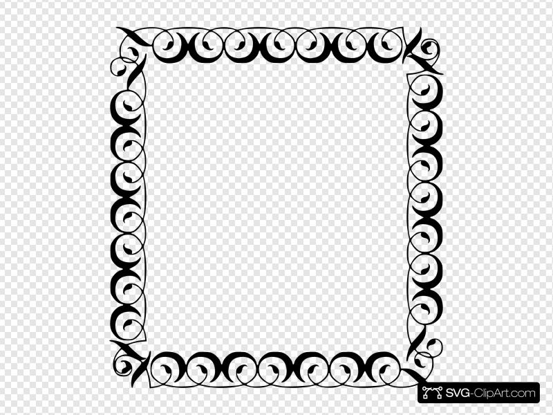 Decorative Border Clip art, Icon and SVG.