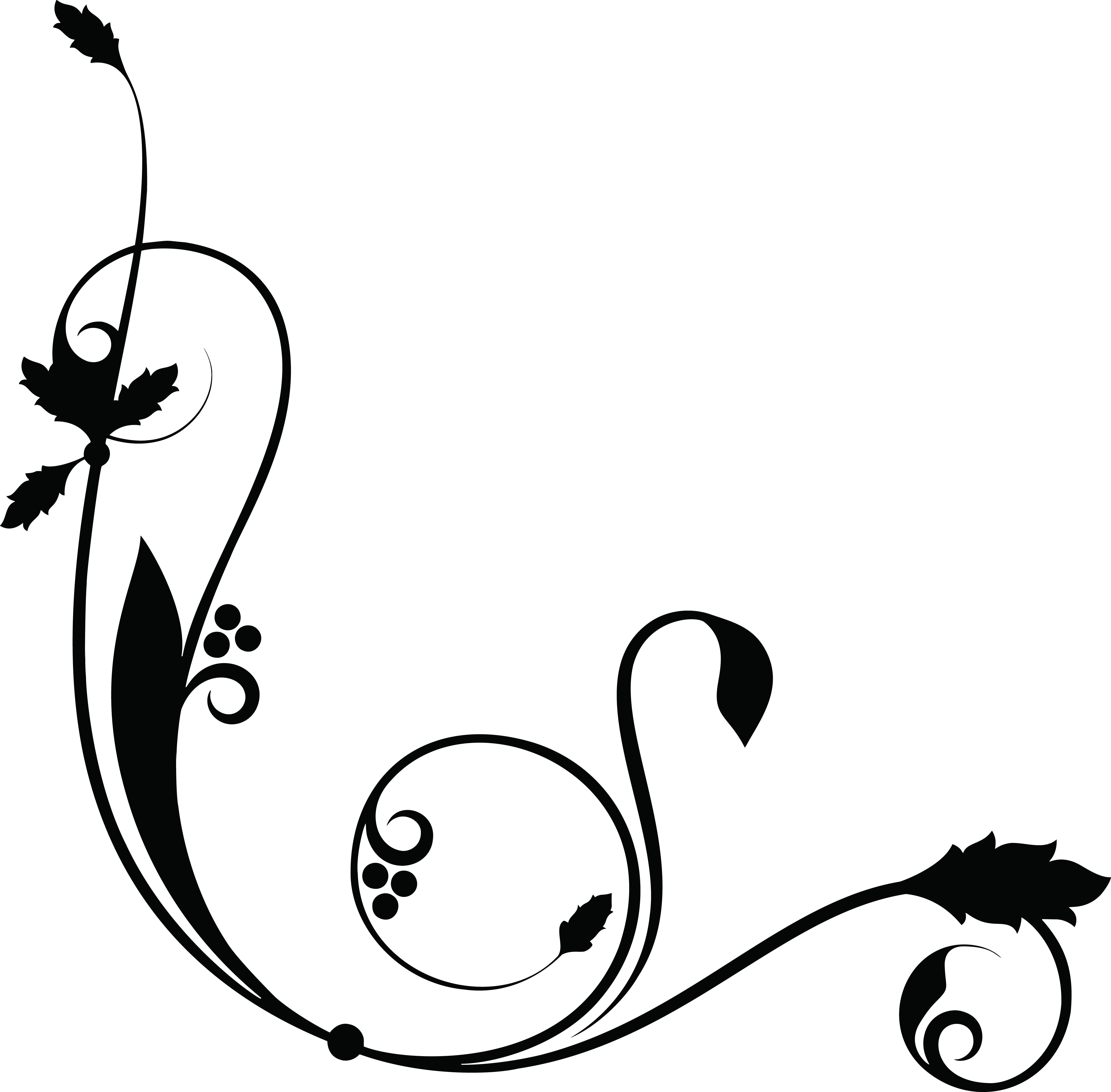Free Clipart Of a Decorative Border.