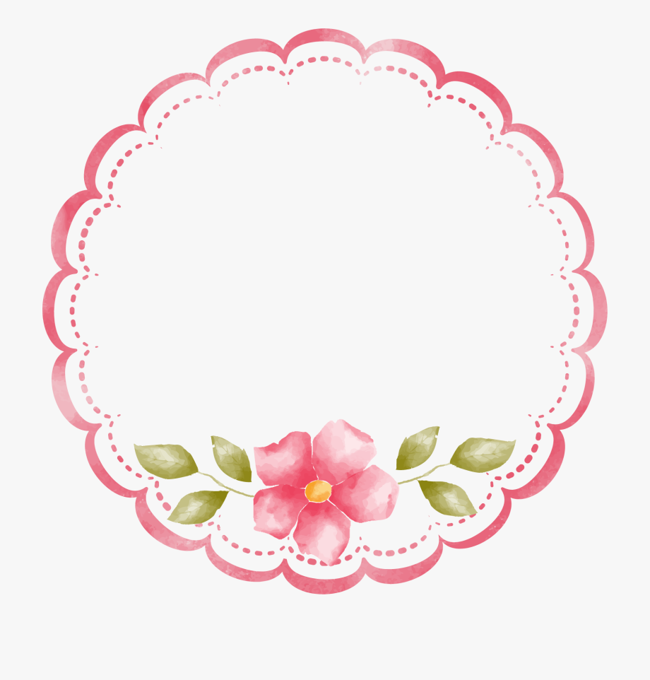 Decorative Border Clipart Png Image.