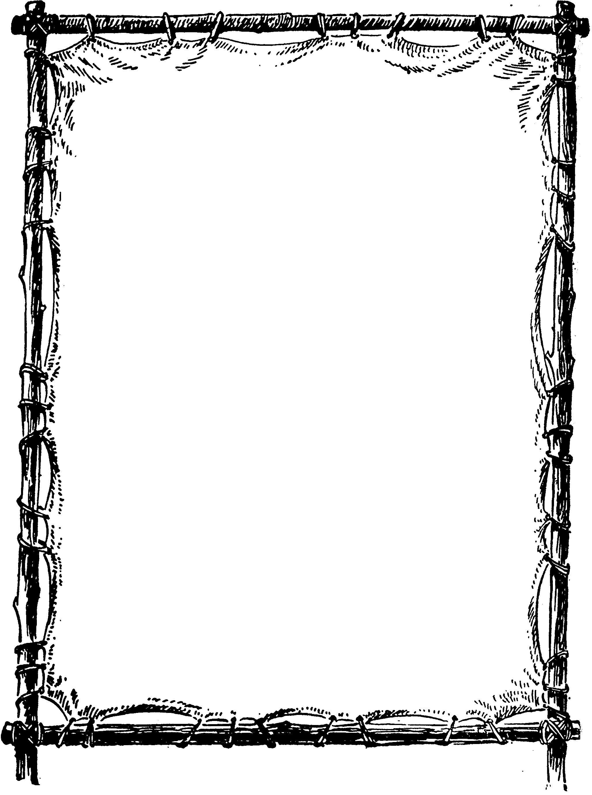 Decorative Borders Clipart.