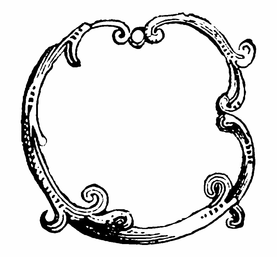 Digital Decorative Circle Frame Image Downloads Decorative.