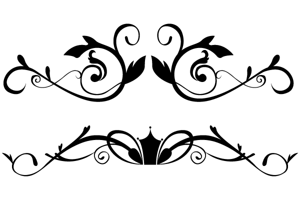 Free decorative borders clip art.