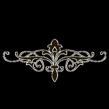 Decorative Clip Art Lines.