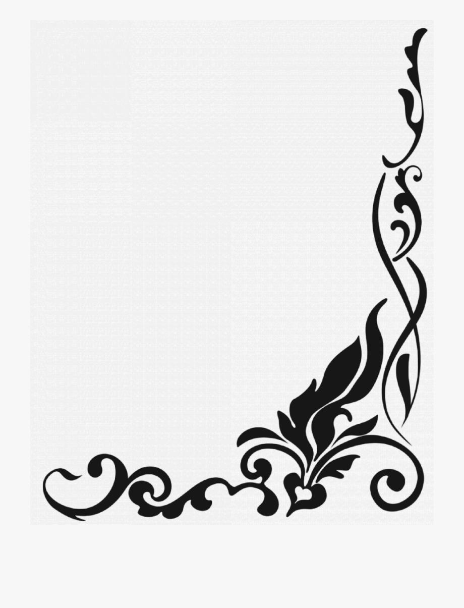 Corner Border Png Clipart Decorative Corners Clip Art.