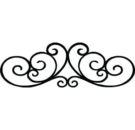 Decorative Scroll Clipart.