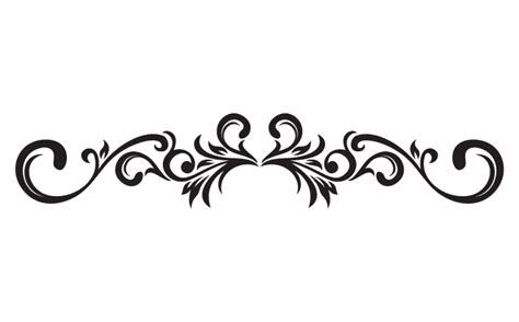 Decorative Designs Clip Art.