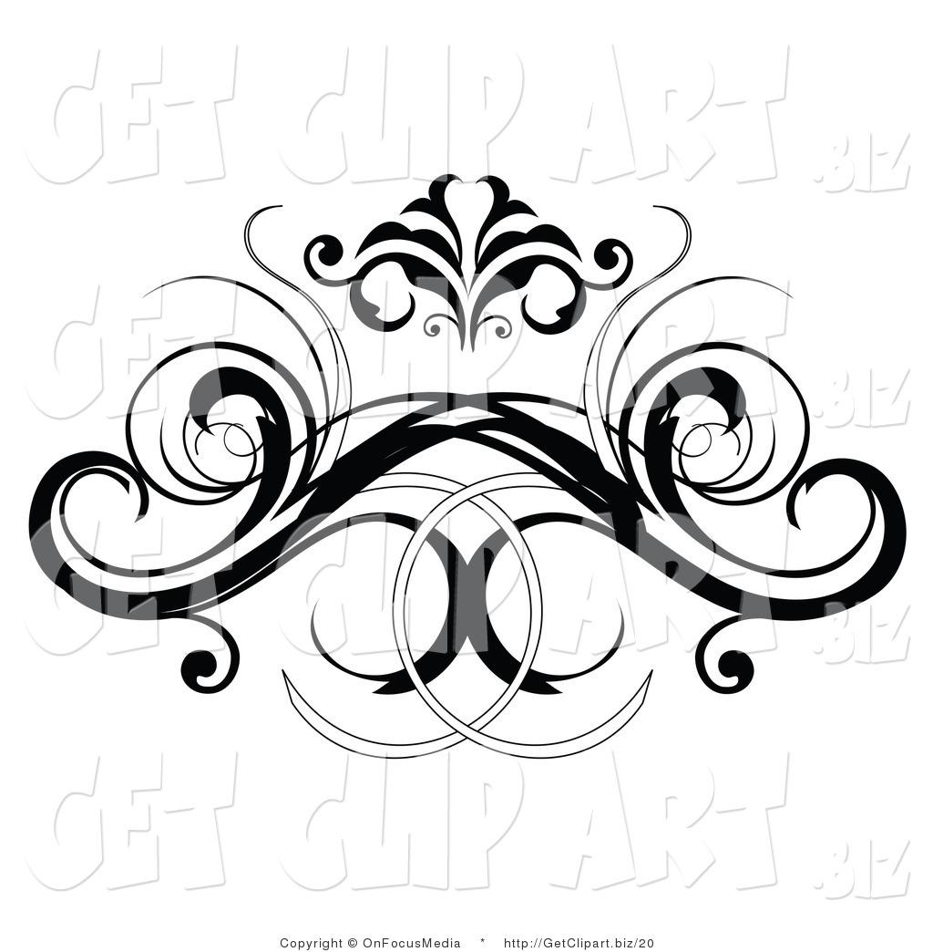 Black Design Clipart.