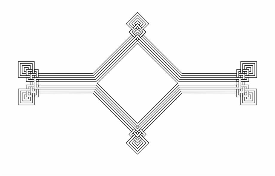 Jpg Black And White Stock Decorative Line Divider Clipart.