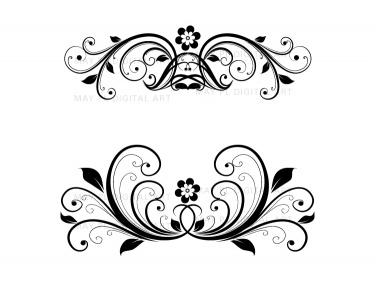 Decorative Elements Clipart.