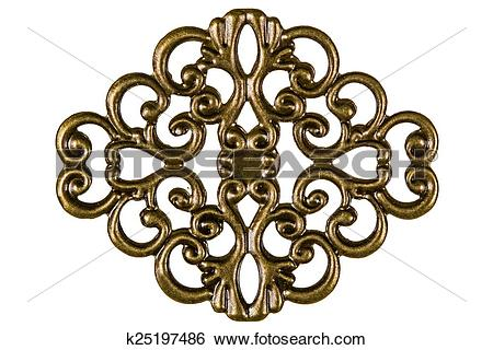 Stock Images of Filigree, decorative element for manual work.