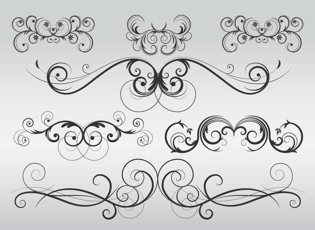 Free Flourish Vector, Download Free Clip Art, Free Clip Art on.