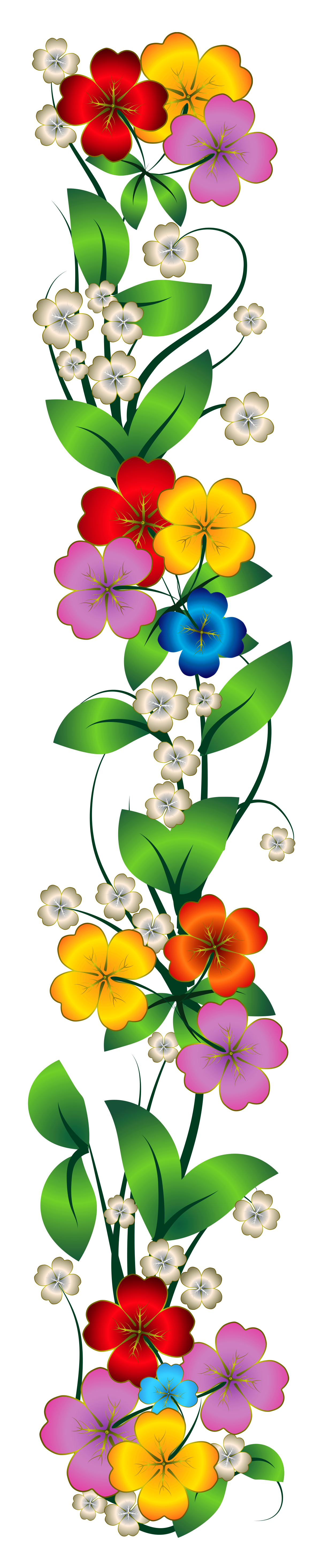 Decorative Flower Clipart.