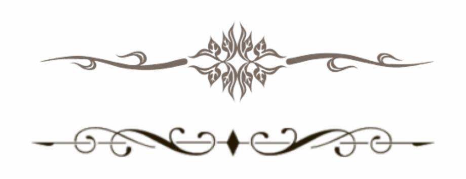Decorative Horizontal Line Png Ekou18com.