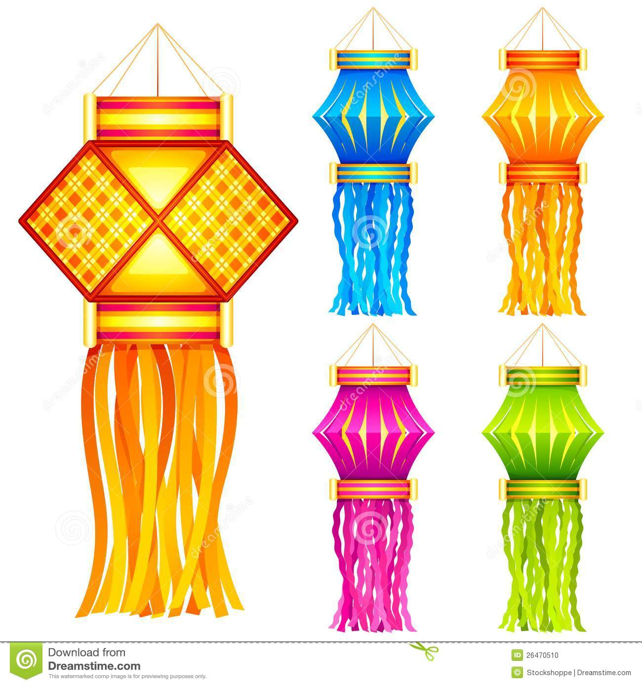 Hanging candle lantern clipart.