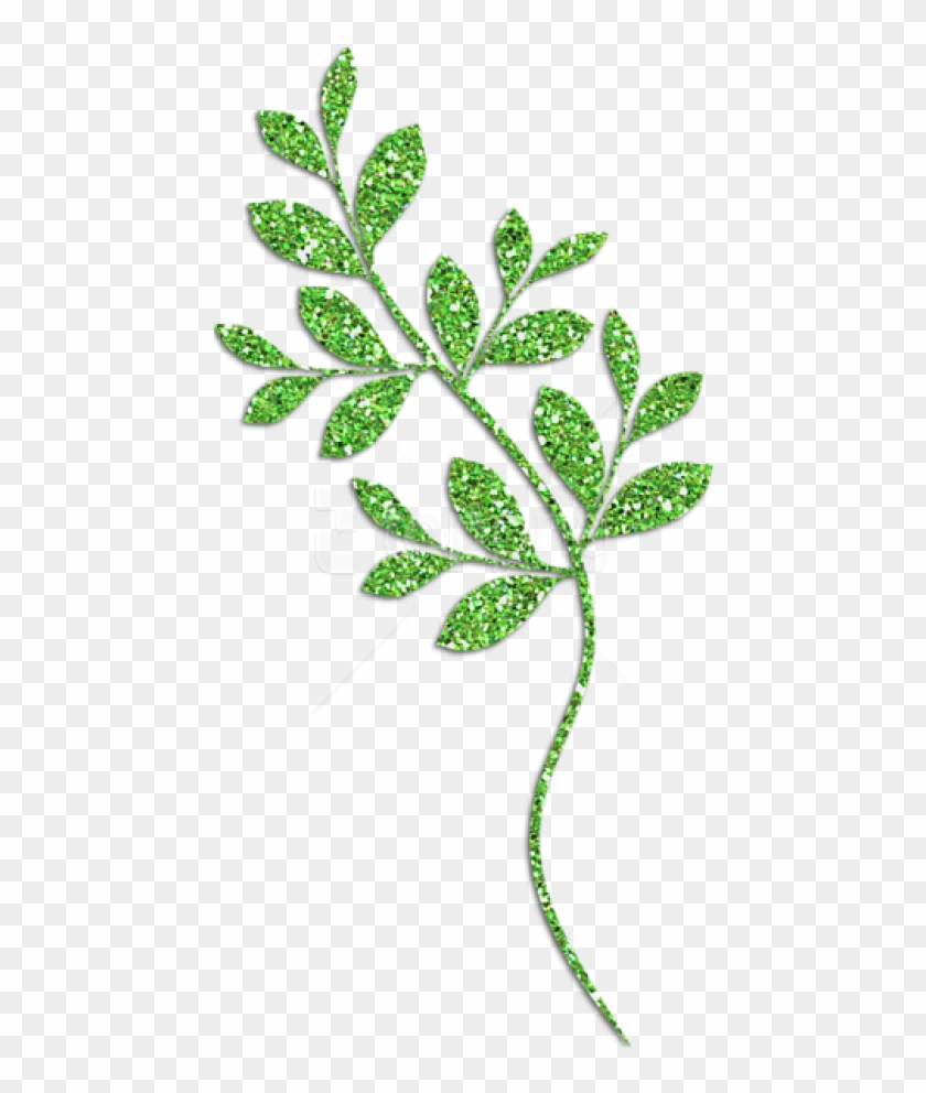 Free Png Download Decorative Green Leaves Clipart Png, Transparent.