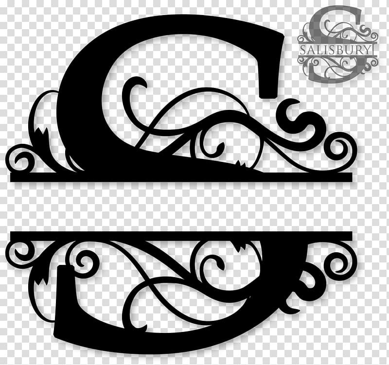 Monogram Letter Initial Alphabet , decorative letter.