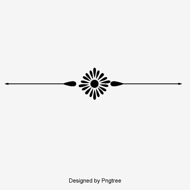 European Creative Decorative Lines Dividing Lines, Continental.