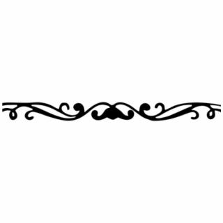 Free Decorative Line Divider PNG Image, Transparent Decorative Line.