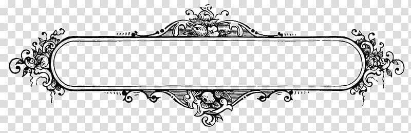Frames Drawing, decorative line transparent background PNG clipart.