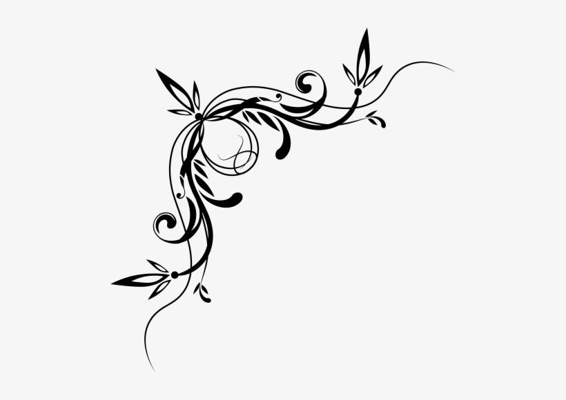 Decorative Scroll Png.