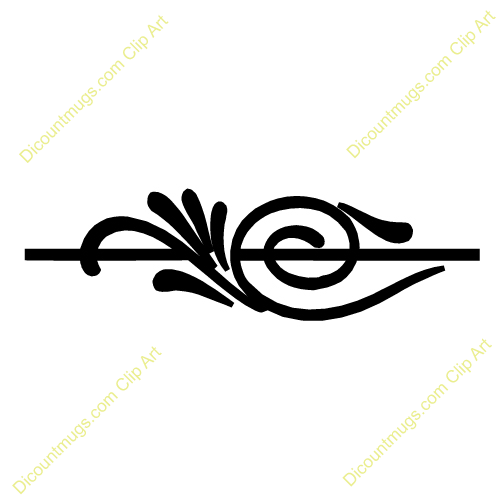 Decorative Line Clipart.