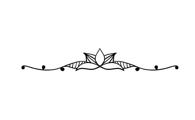 Decorative Lines Vector Five Border.