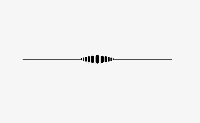 Decorative Lines Dividing Line, Line, De #6174.