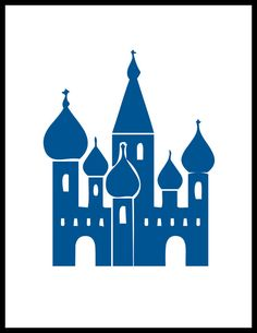 Famous Landmark Hinged Trinket Box Onion Dome St. Basil's Moscow.