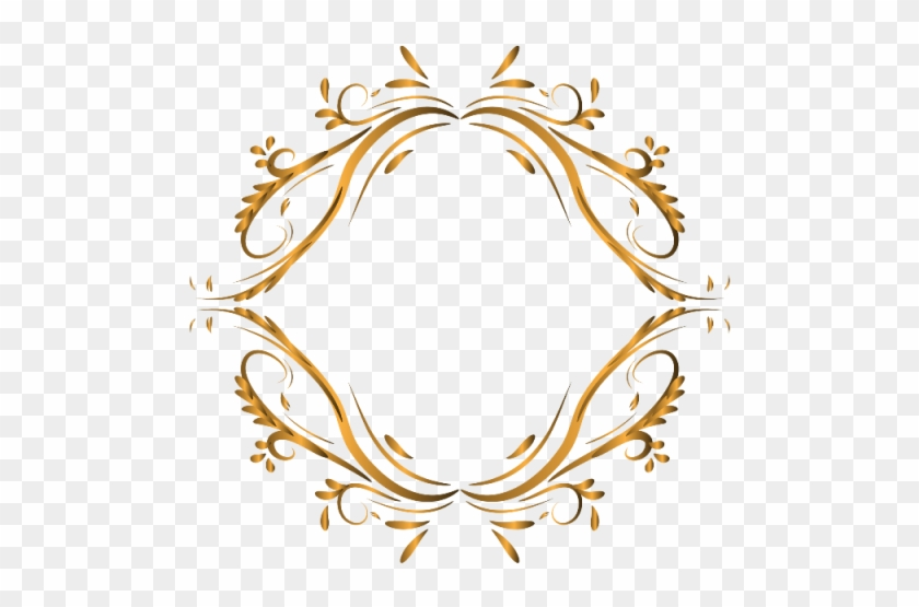Luxury Ornament Frame Background Decorative Png And.