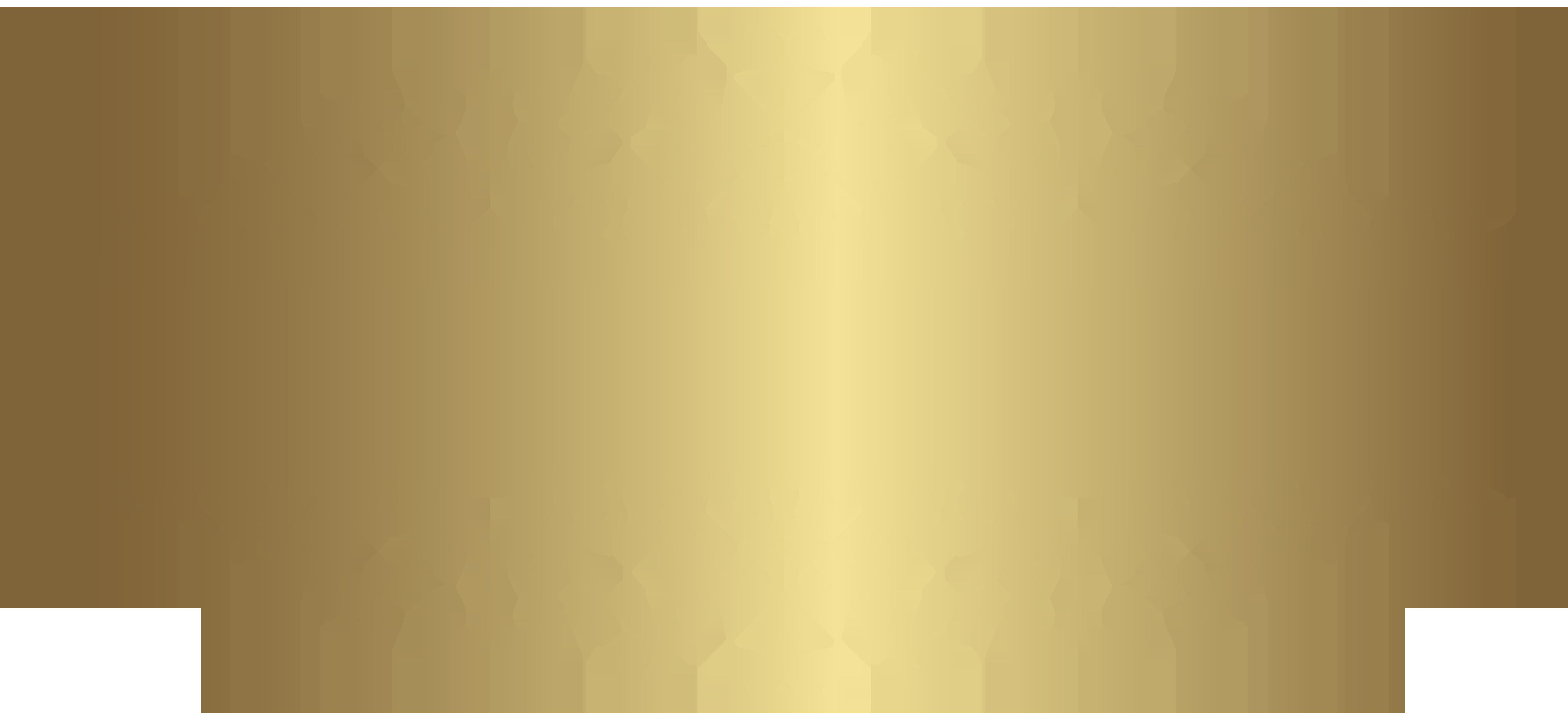 Gold Decorative Element PNG Clip Art.