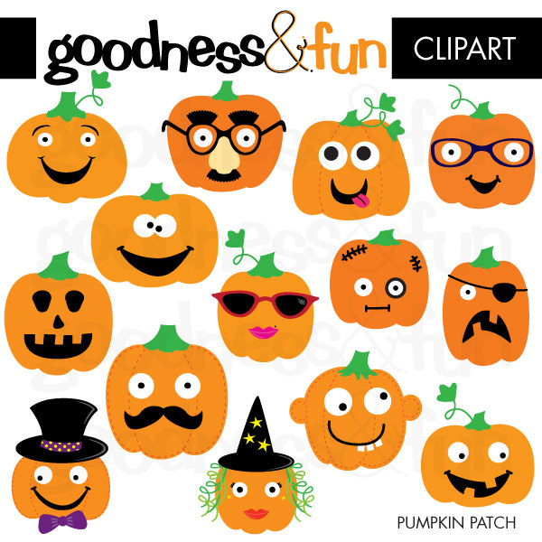 Decorative pumpkin clipart.