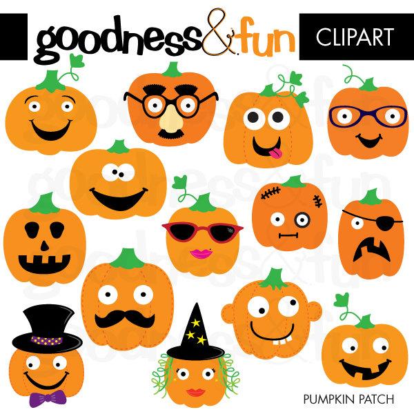Decorative pumpkin clipart.
