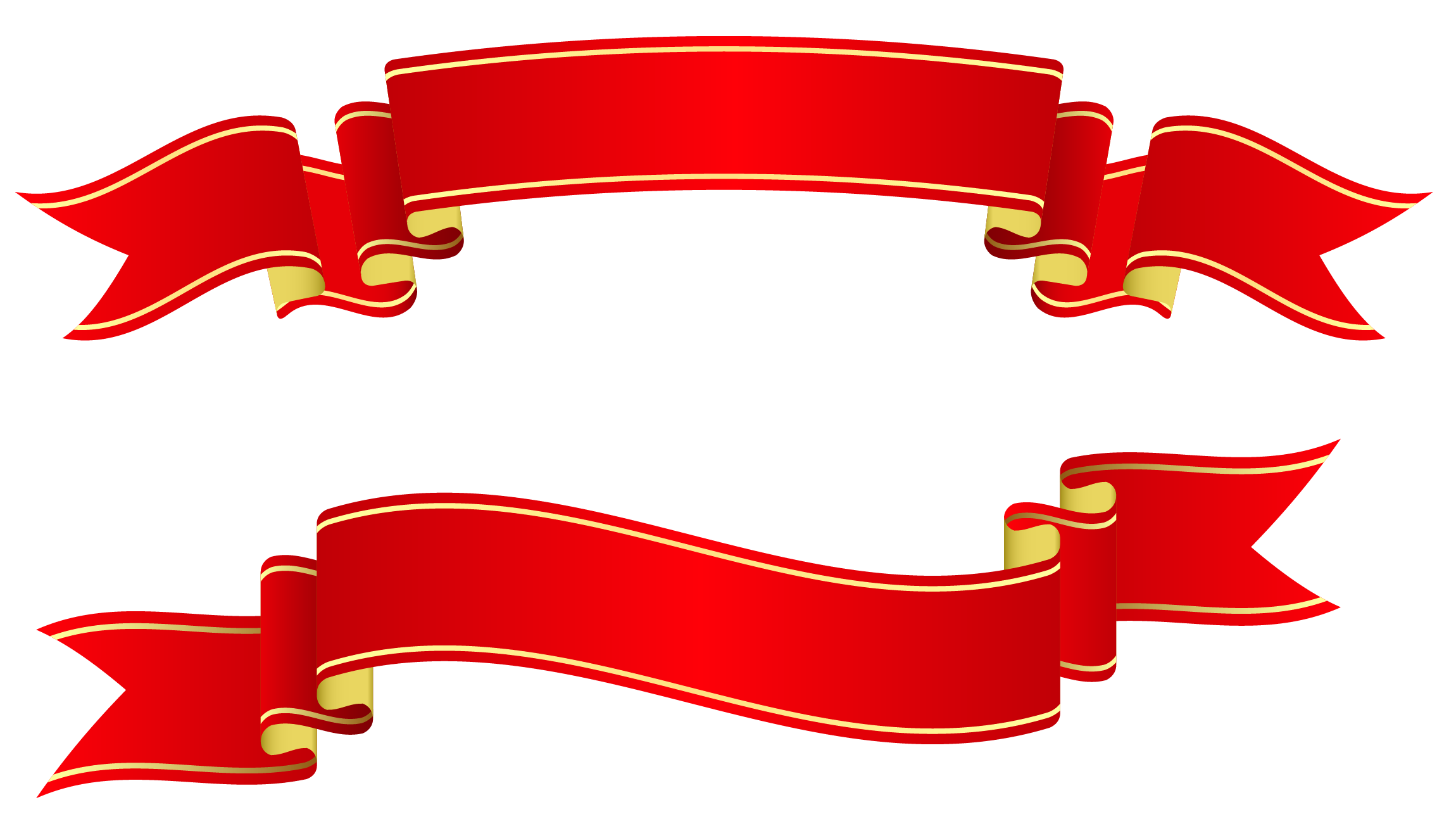Clip Art Decorative Ribbon.