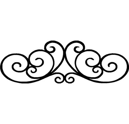 Decorative scrolling clipart clipground for Decorative scrollwork