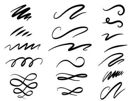9,716 Squiggle Stock Vector Illustration And Royalty Free Squiggle.