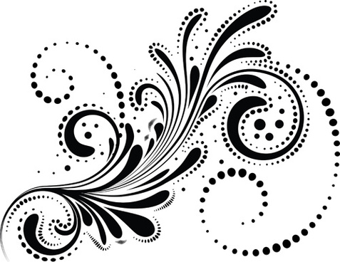 Free decorative swirl clipart free vector download (32,164.