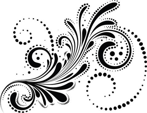 Free decorative swirl clipart free vector download (32,164.