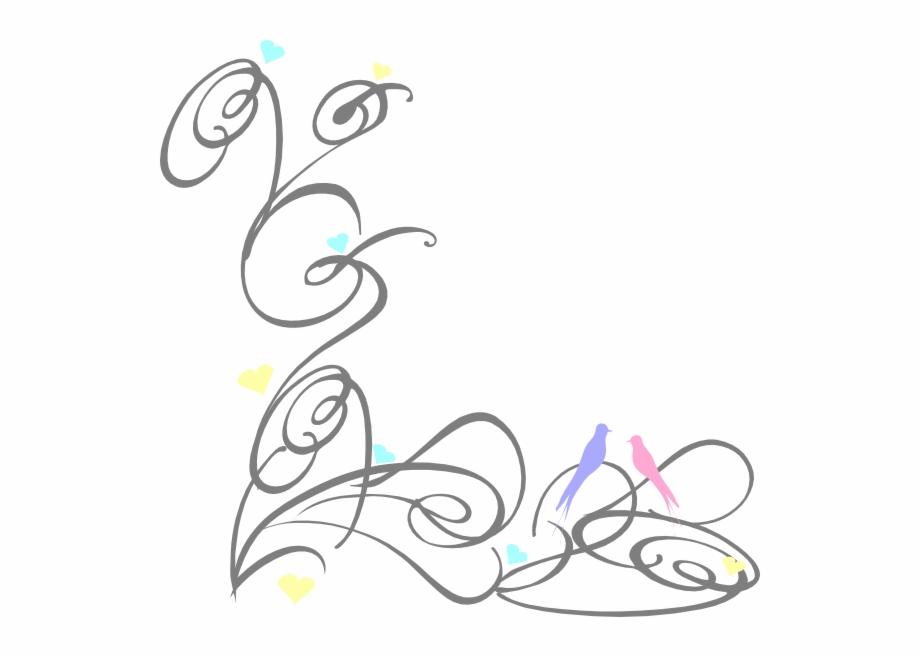 Decorative Swirl Clip Art.