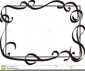 Decorative Swirls Clipart Free.