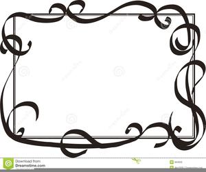 Decorative Swirls Clipart Free.