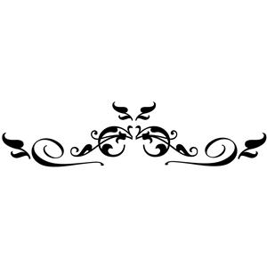 Decorative symbols clipart Transparent pictures on F.
