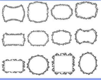 Decorative text box clipart 1 » Clipart Portal.