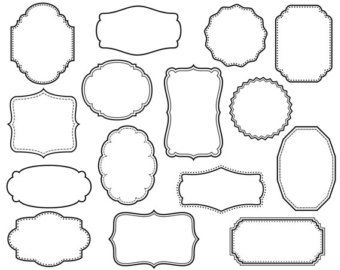 Decorative text box clipart 2 » Clipart Station.
